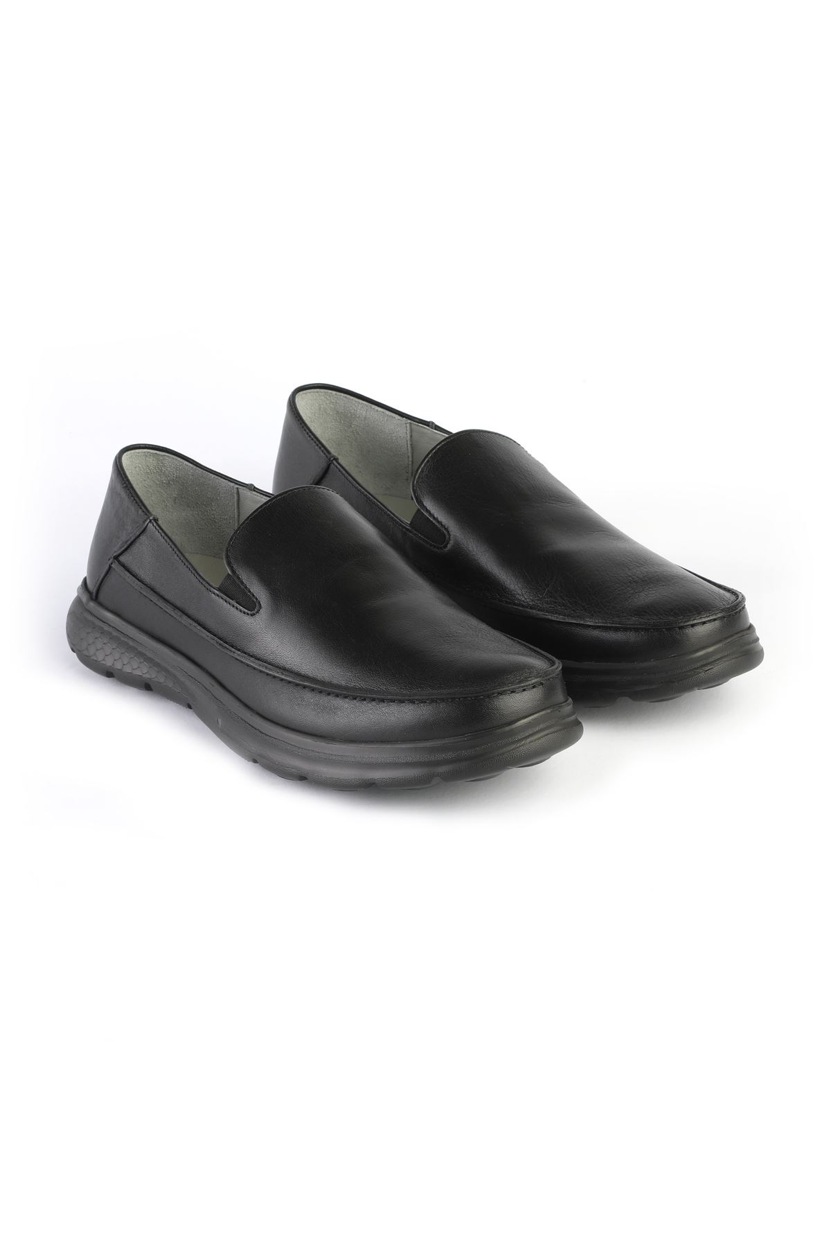 Libero 3223 Black Loafer Shoes
