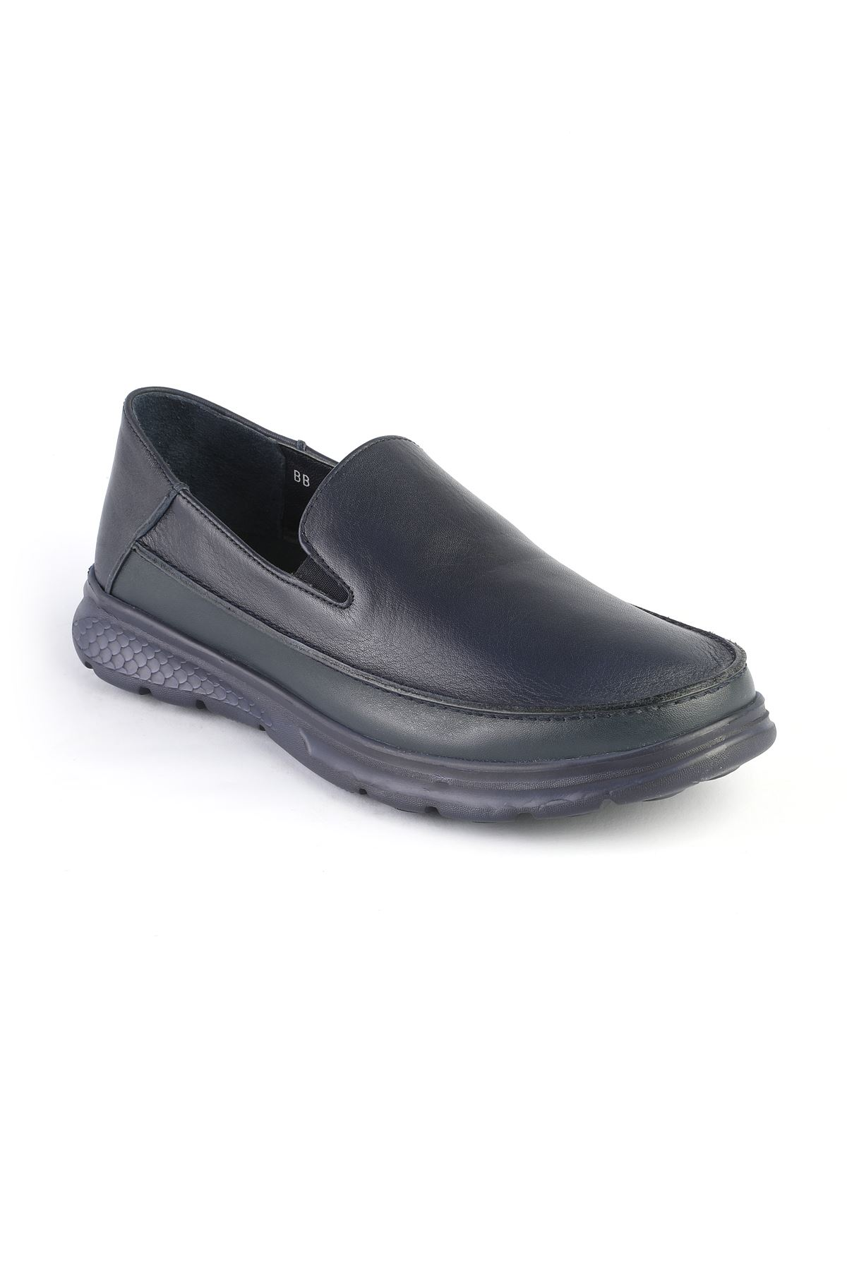 Libero 3223 Navy Blue Loafer Shoes