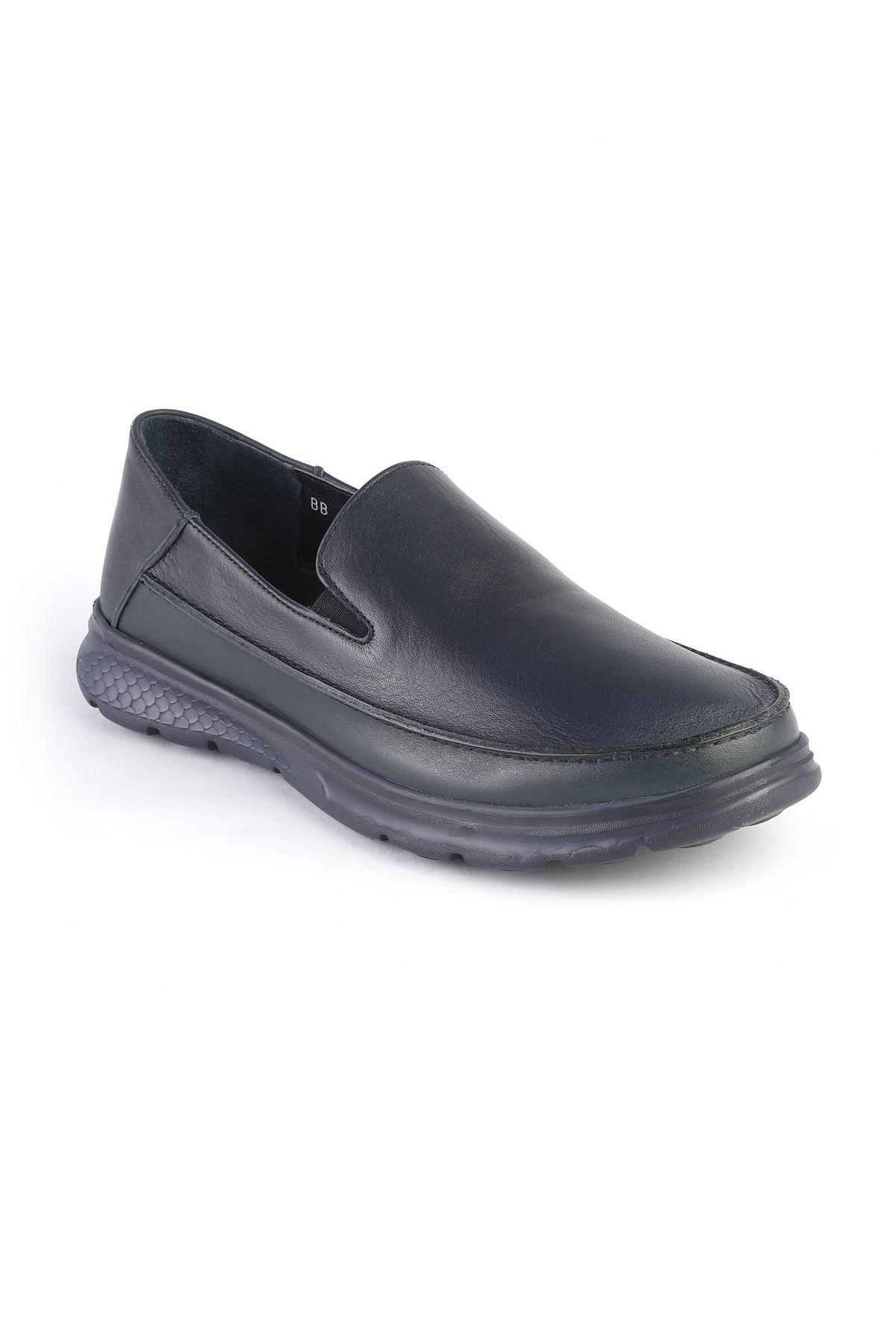 Libero 3223 Navy Blue Loafers