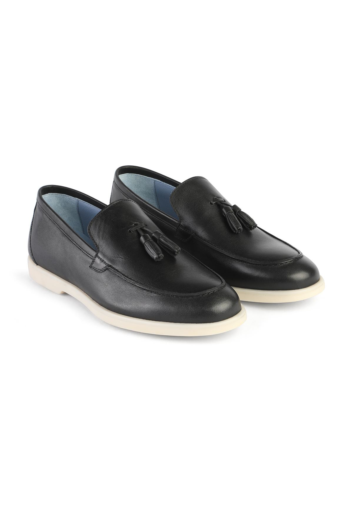 Libero 3219 Navy Loafer Shoes