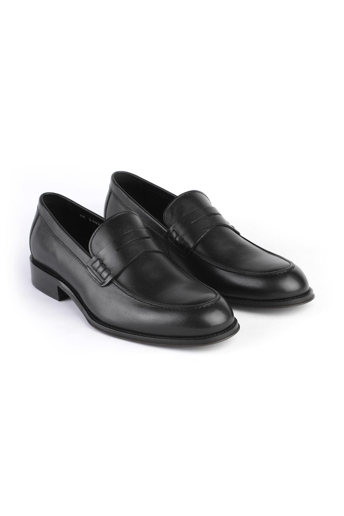 Libero 2402 Siyah Loafer Ayakkabı