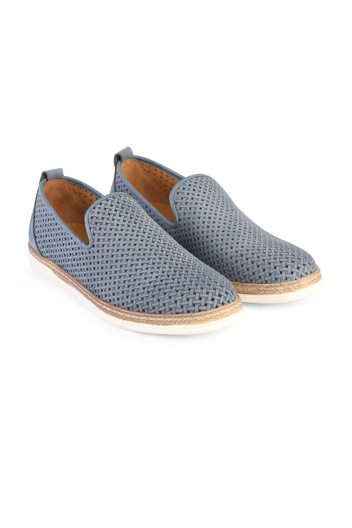Libero 3397 Mavi Loafer Ayakkabı