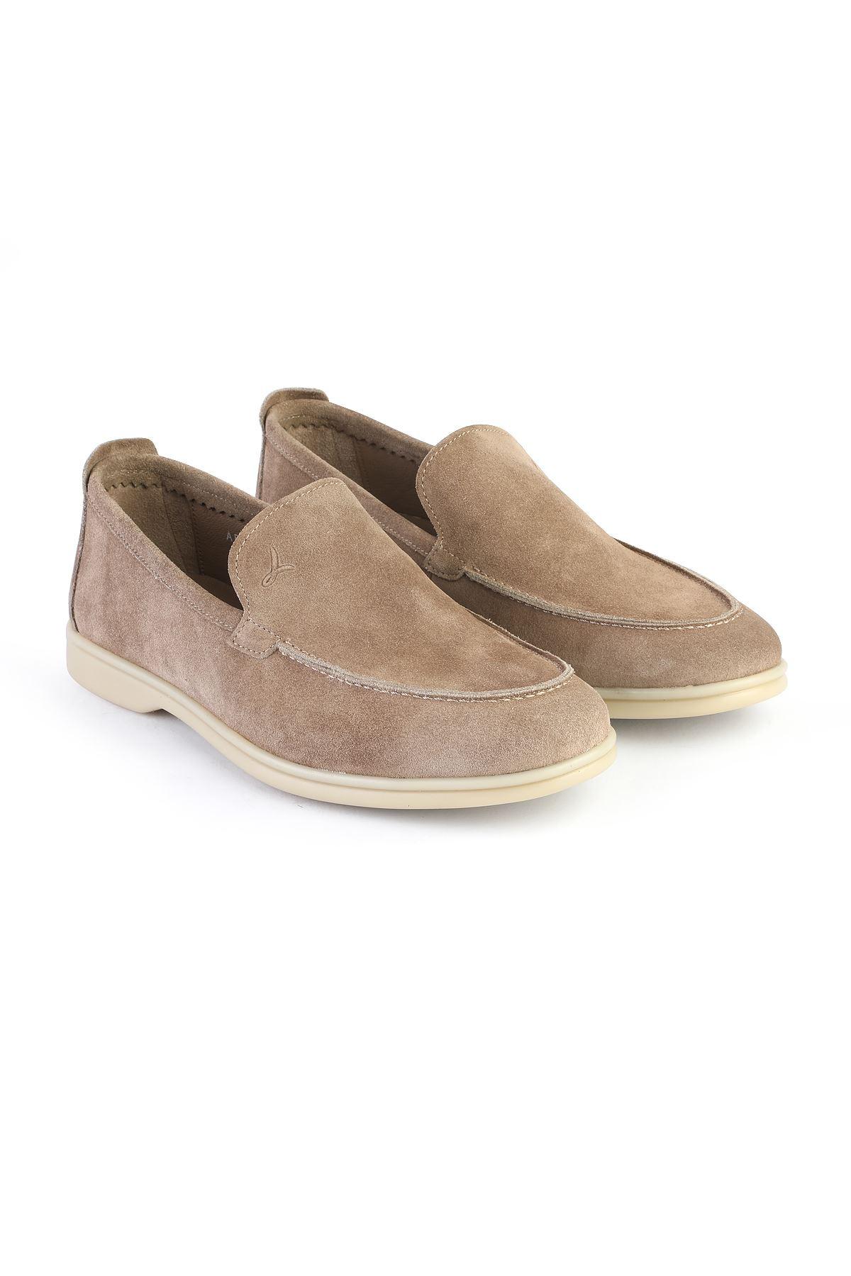Libero 3004 Mink Loafer Shoes