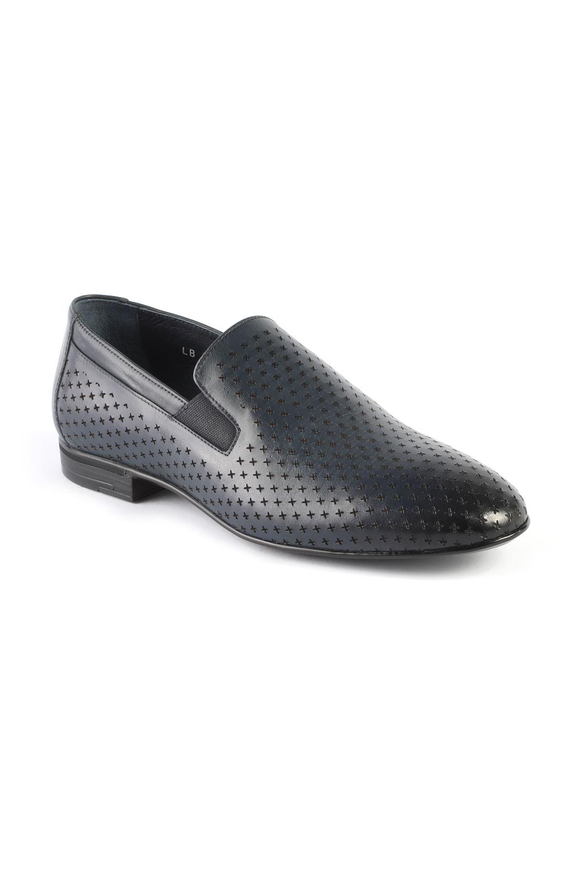 Libero L3266 Lacivert Klasik Ayakkabı