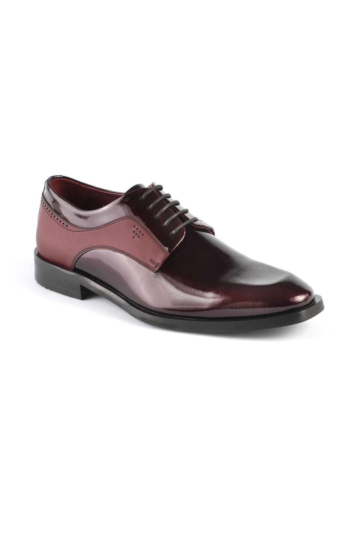Libero L3252 Claret Red Classic Shoes