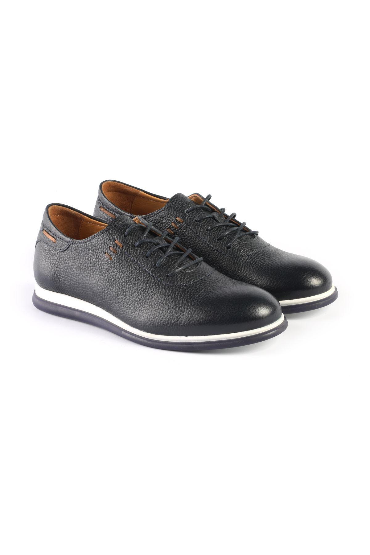 Libero L3276 Navy Blue Casual Shoes