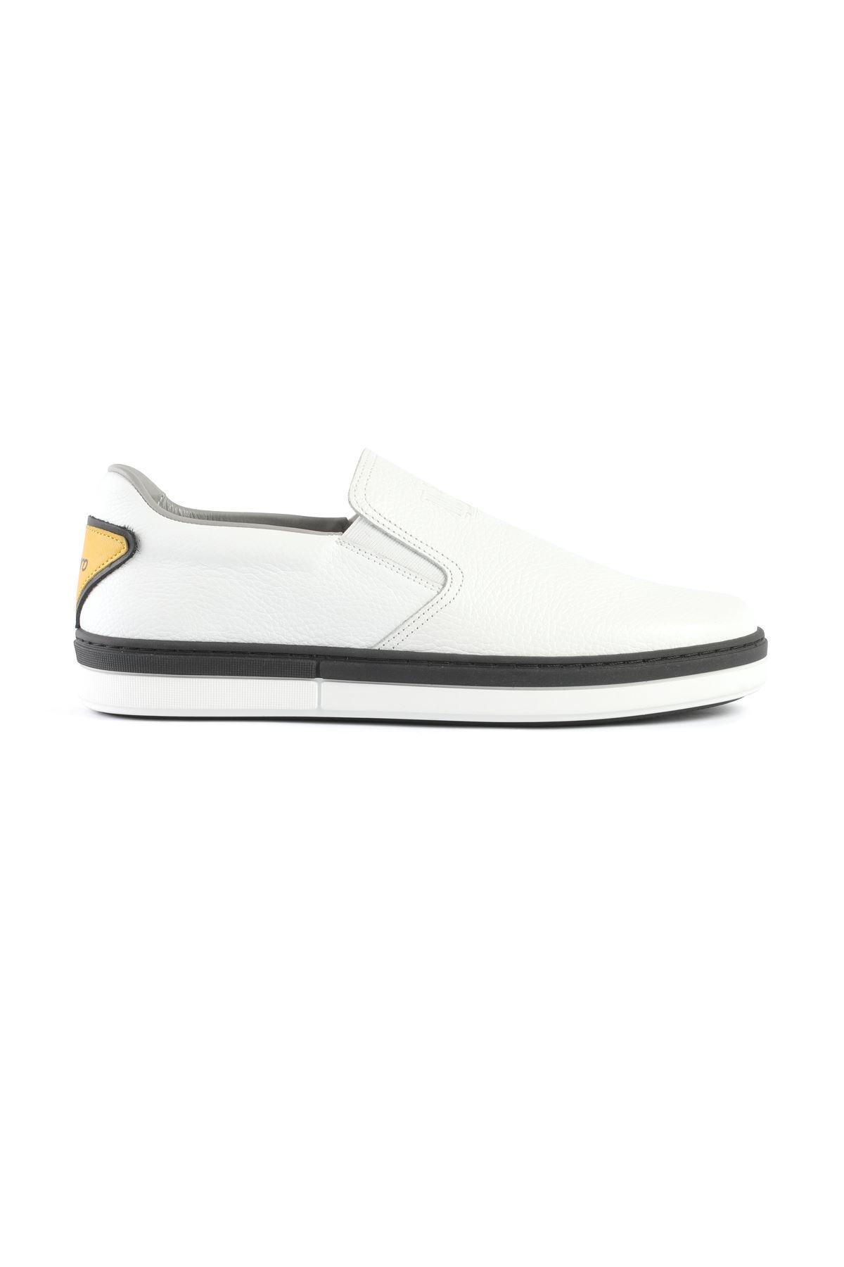 Libero 3353 Beyaz Loafer Ayakkabı