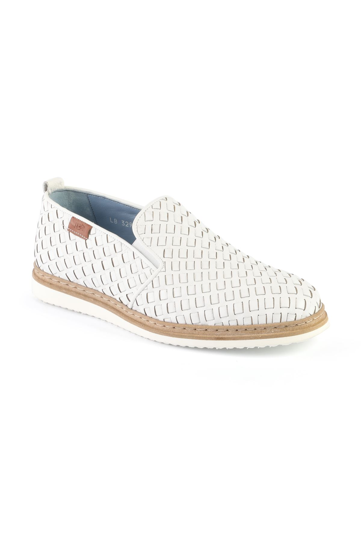 Libero L3295 White Loafer Shoes