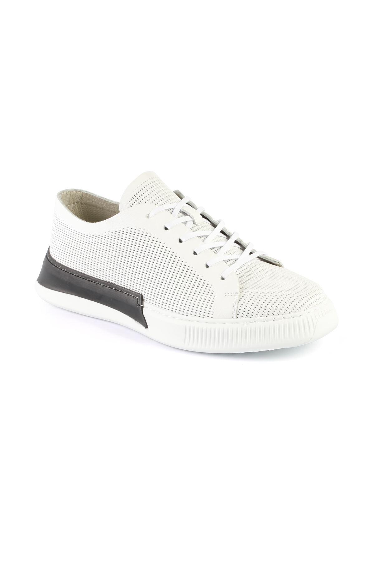 Libero L3411 White Sneaker Shoes