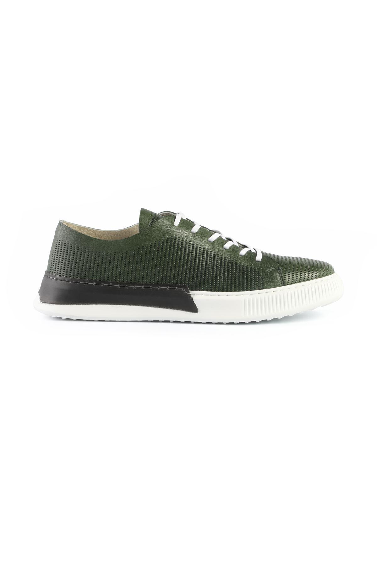 Libero L3411 Green Sneaker Shoes