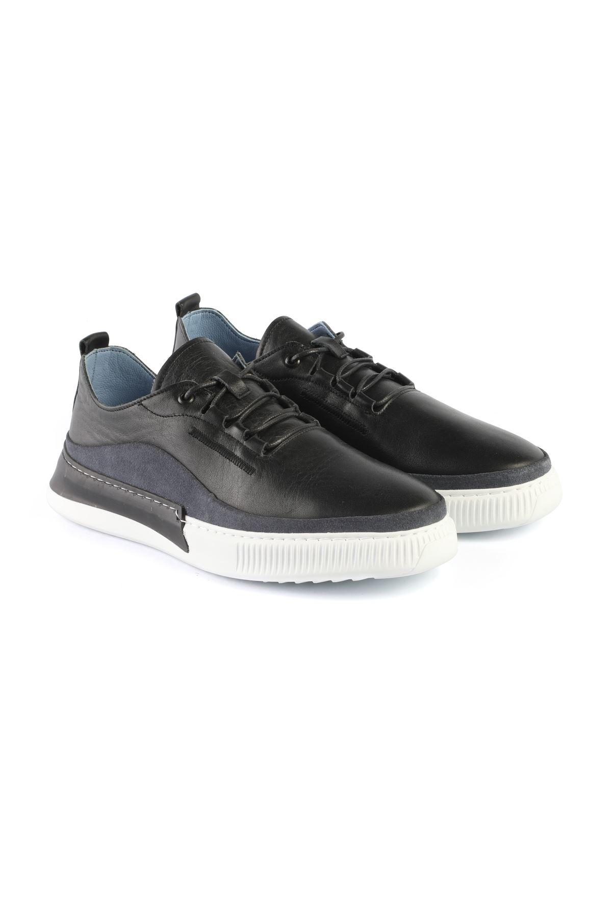 Libero L3400 Black Sneaker Shoes