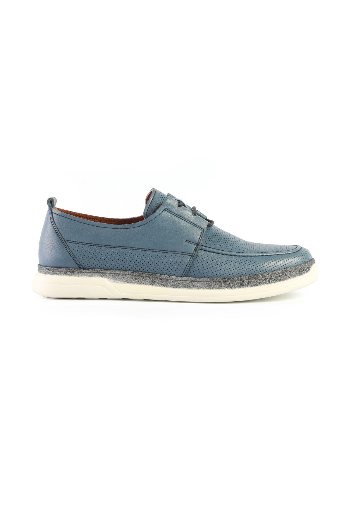 Libero L3418 Mavi Loafer Ayakkabı