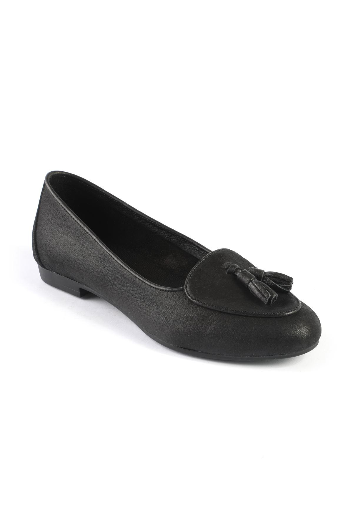 Libero FMS206 Black Babette Shoes