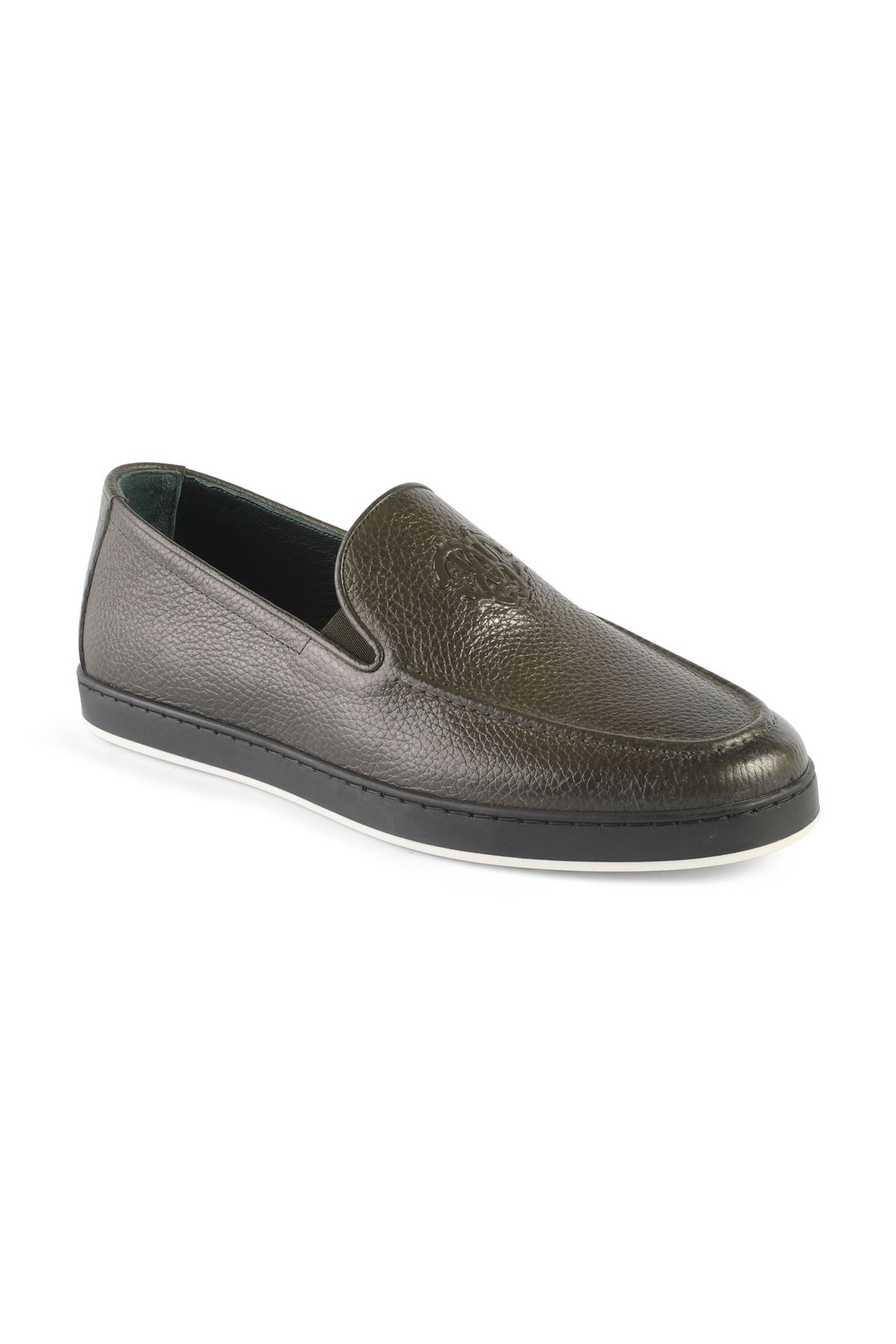 Libero T1254 Green Loafer Shoes