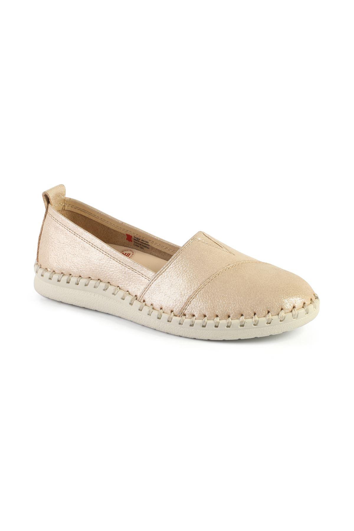Libero AH6016 Bej Babet Ayakkabı