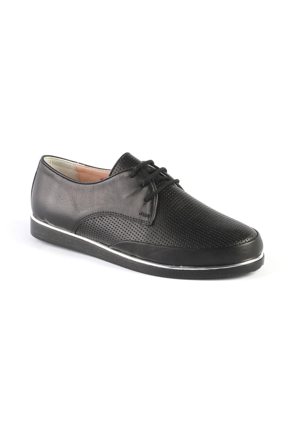 Libero AH8091 Siyah Babet Ayakkabı