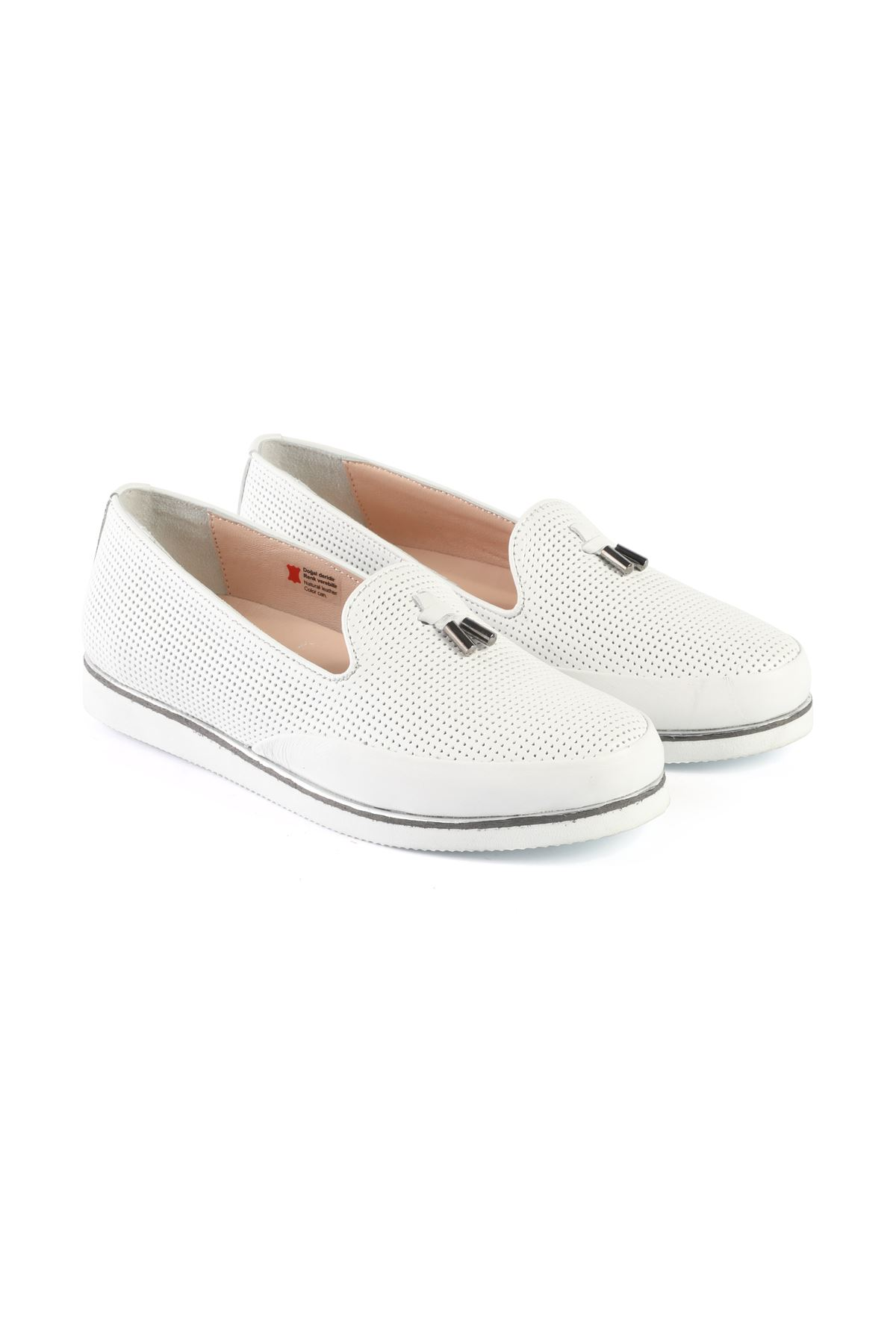 Libero AH8090 White Babette Shoes