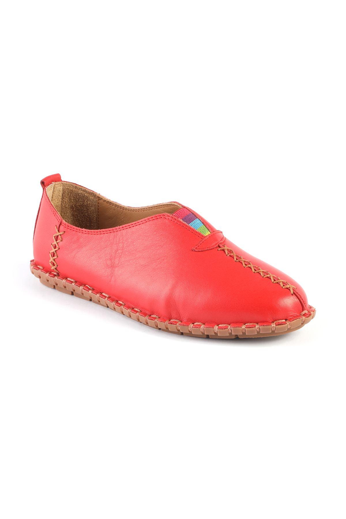 Libero MS2901 Krem Babet Ayakkabı