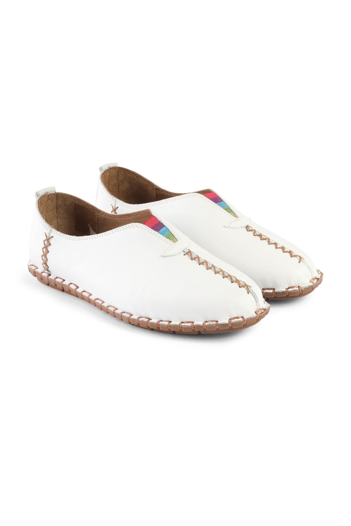 Libero MS2901 Beyaz Babet Ayakkabı