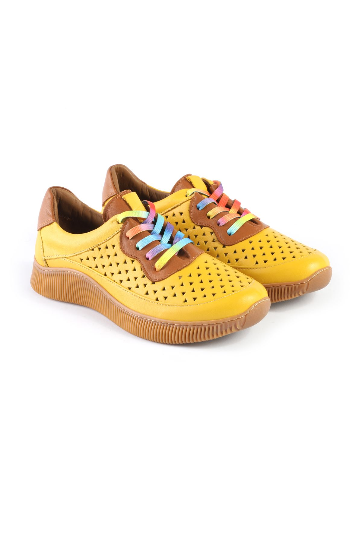 Libero MS3532 Yellow Sport Shoes