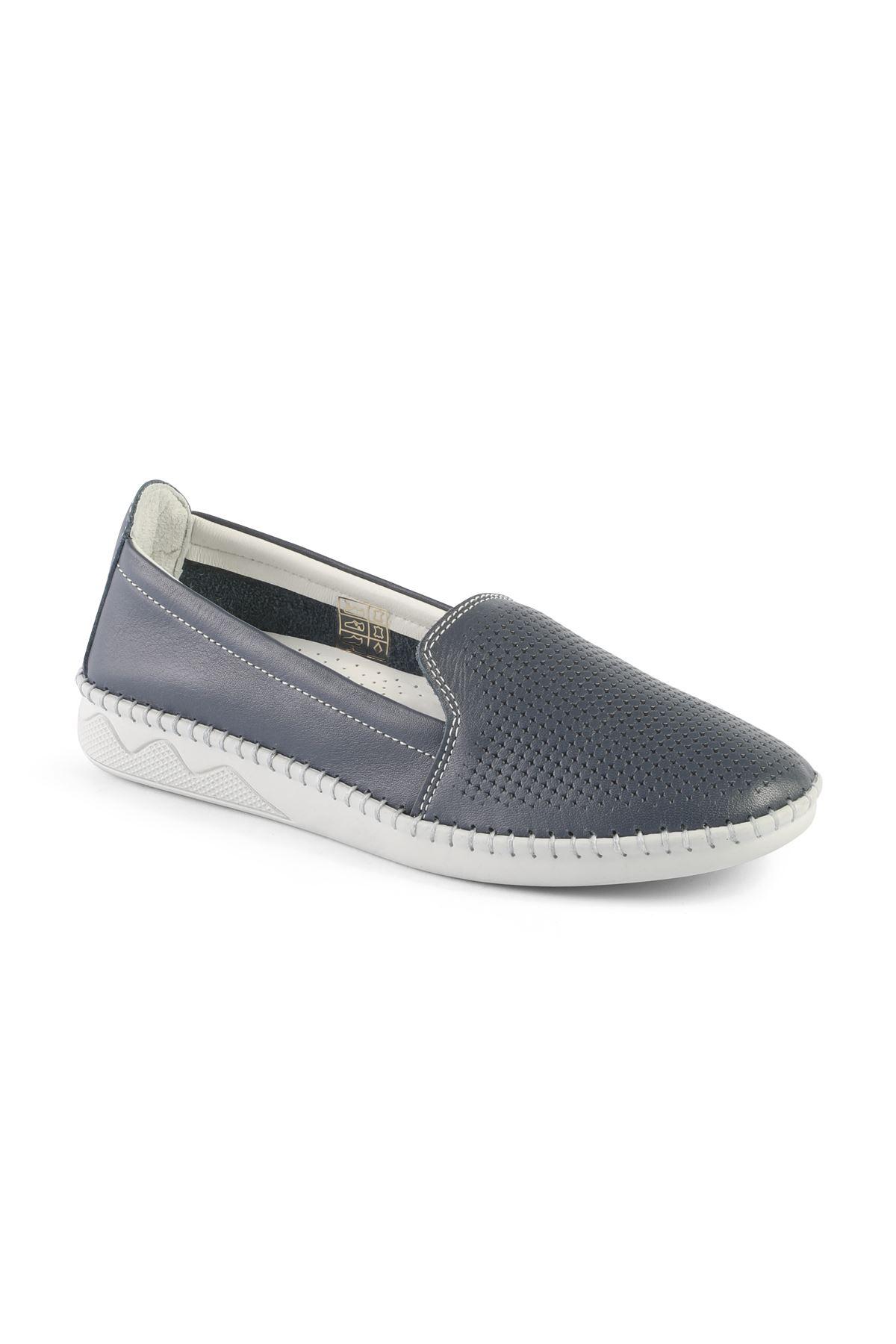 Libero FMS239 Lacivert Babet Ayakkabı