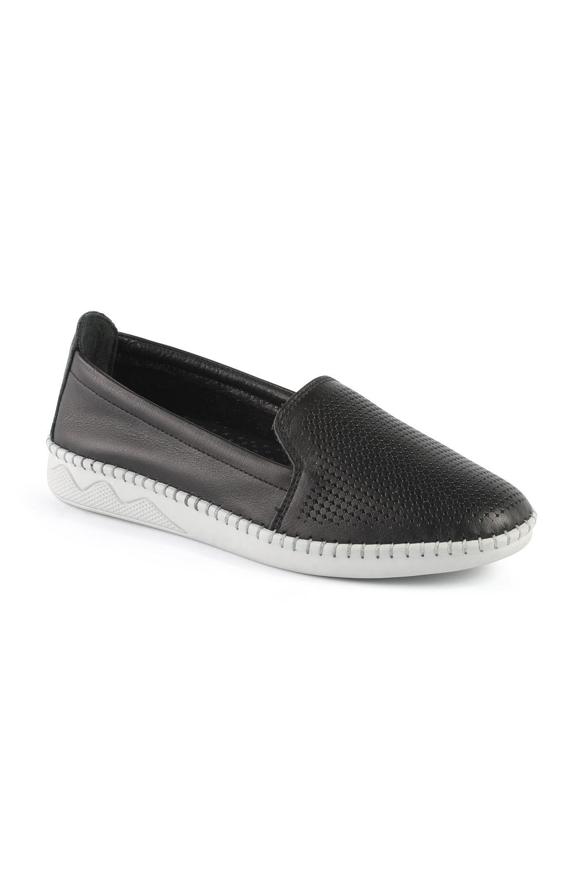Libero FMS239 Siyah Babet Ayakkabı