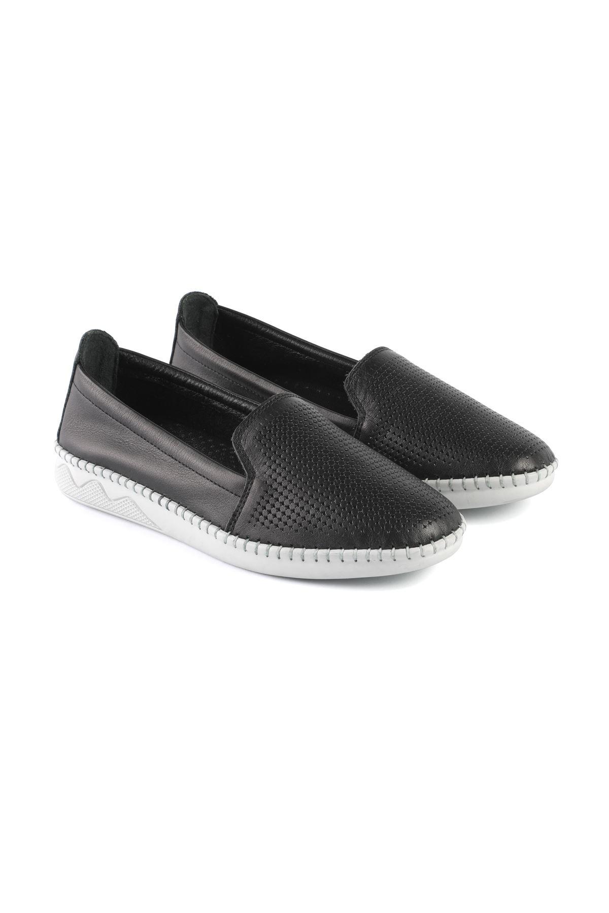 Libero FMS239 Black Babette Shoes