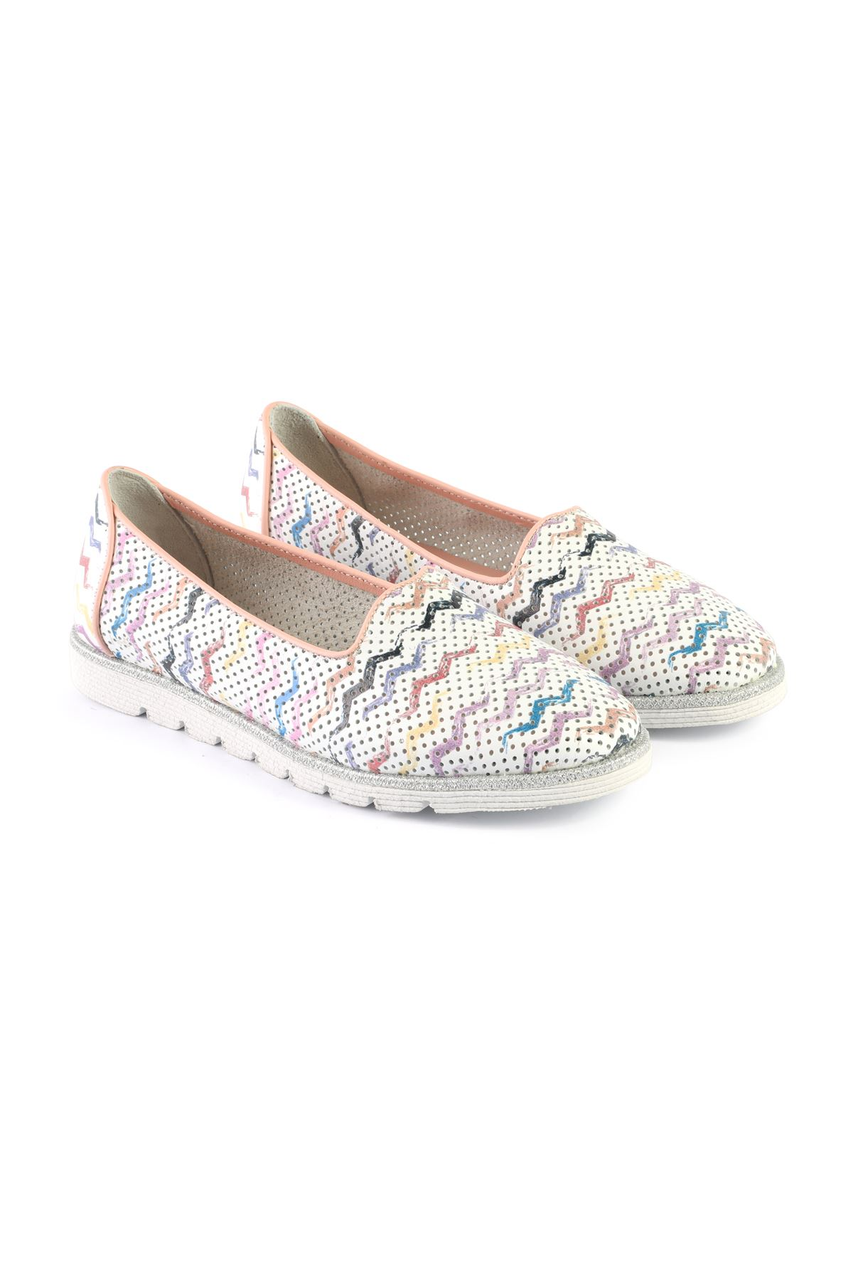 Libero MS2307 B.Silver Babette Shoes