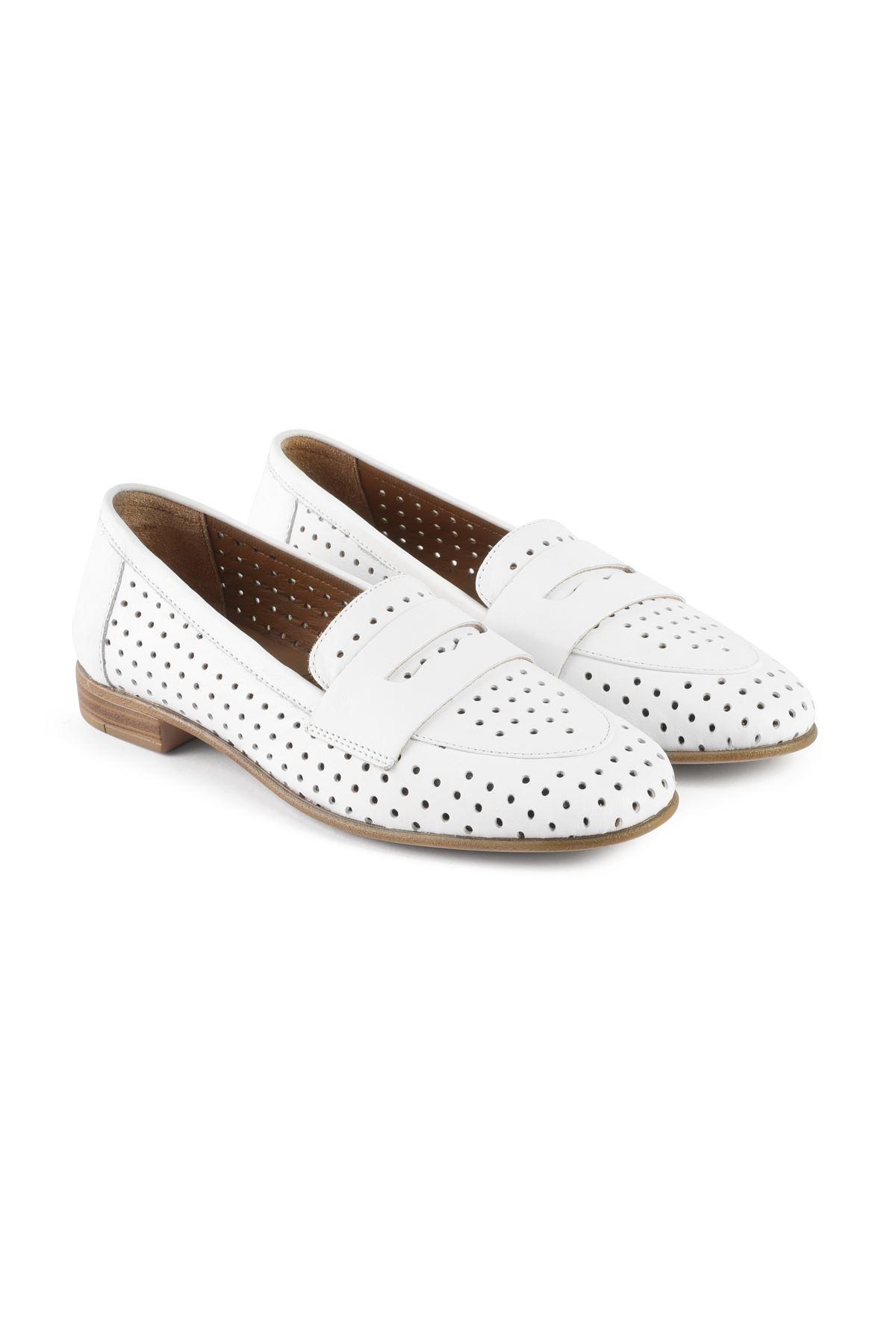 Libero MS2200 Beyaz Babet Ayakkabı