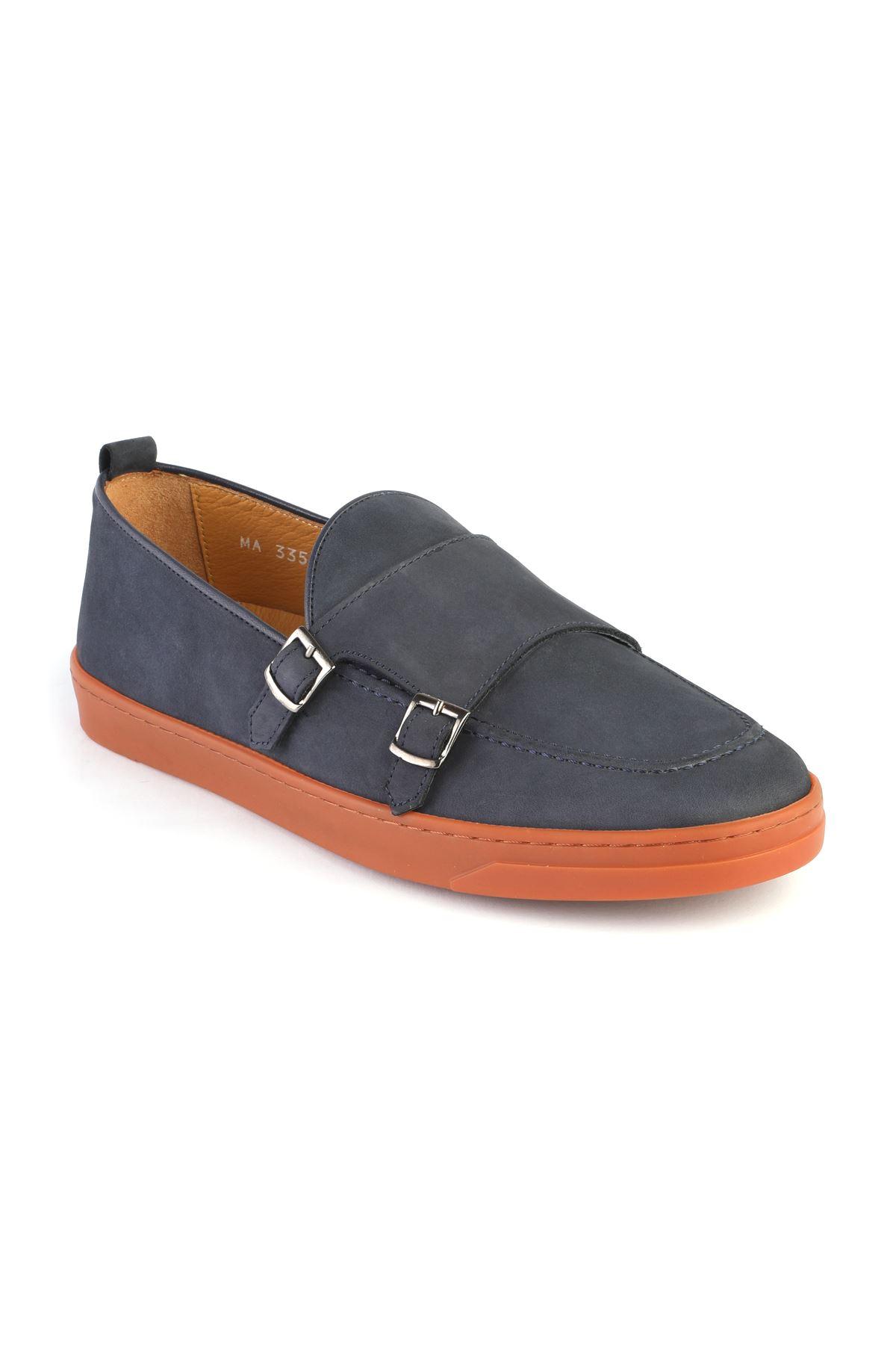 Libero L3357 Lacivert Loafer  Ayakkabı