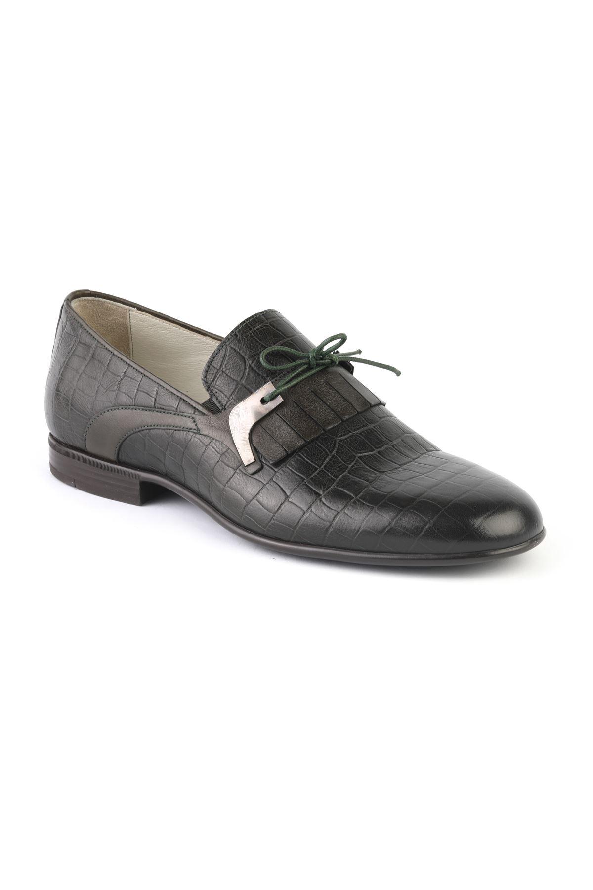Libero T1255 Yeşil Loafer Ayakkabı