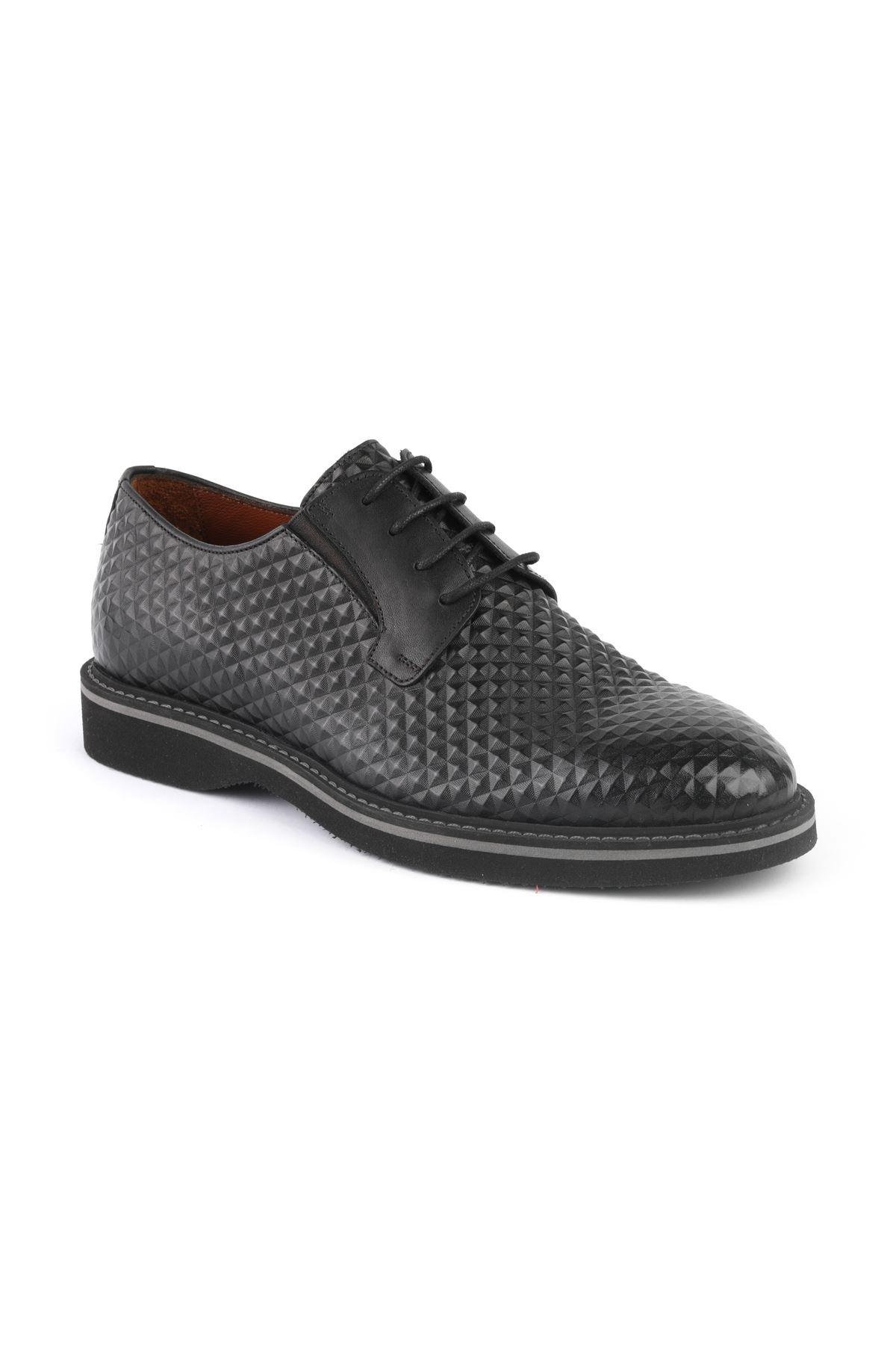 Libero T1254 Black Oxford Shoes