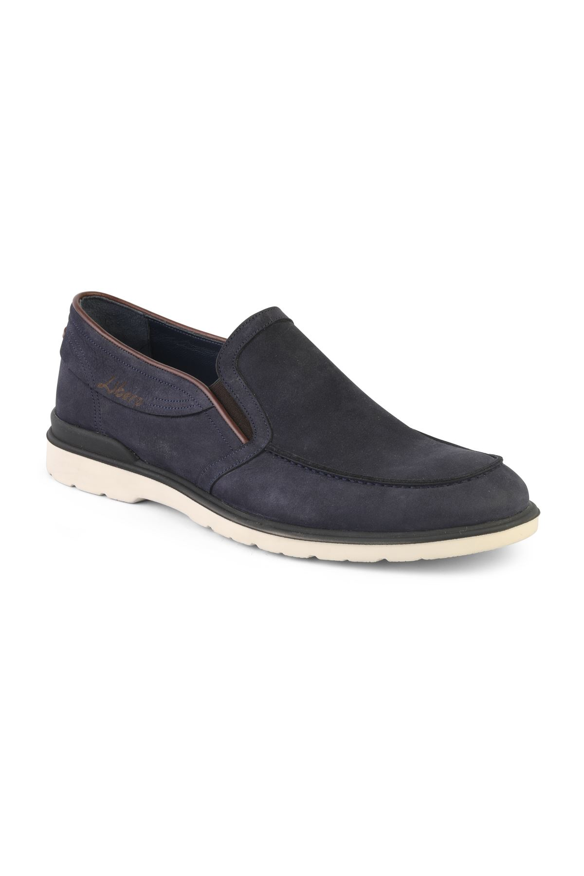 Libero T1249 Navy Blue Loafer Shoes