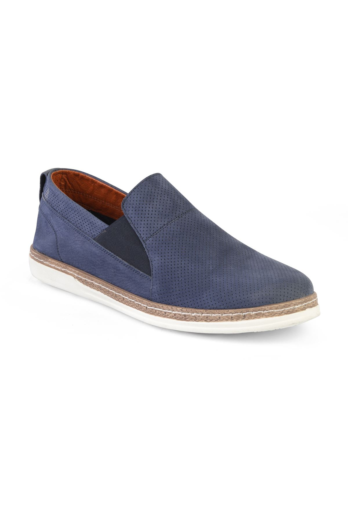Libero T1232 Navy Blue Loafer Shoes
