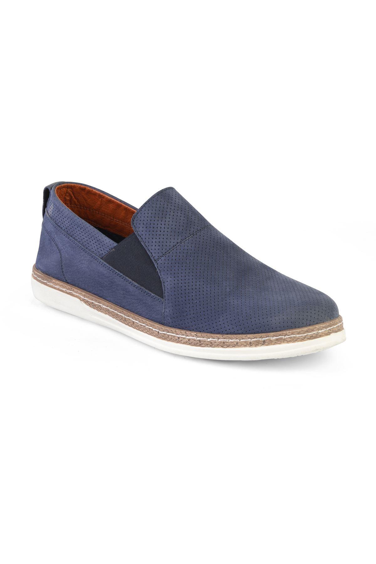Libero T1232 Lacivert Loafer Ayakkabı