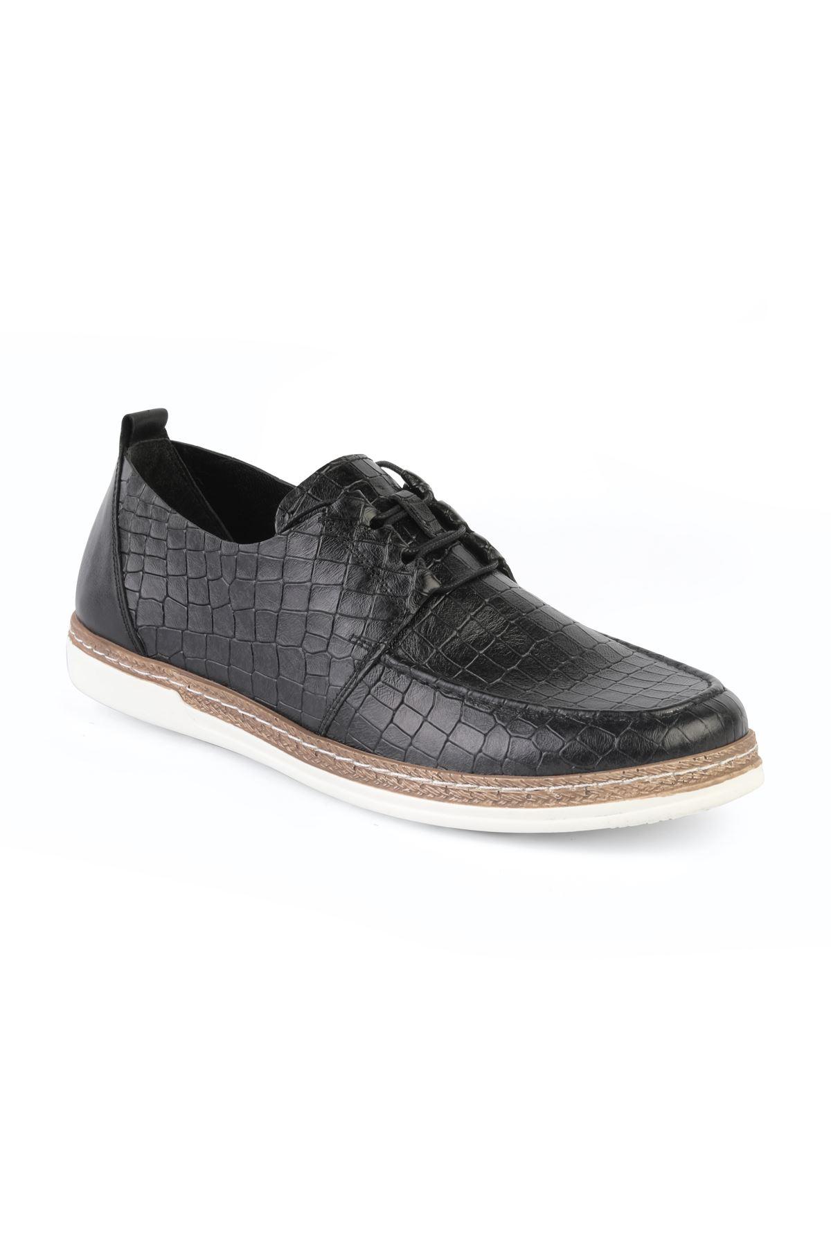 Black T1193 Black Casual Shoes