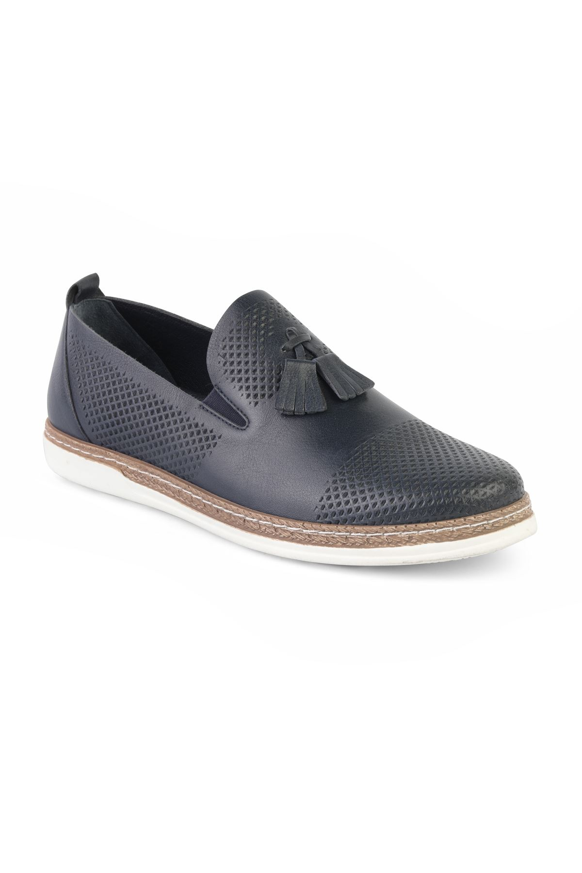 Libero T1167 Black Casual Loafer Shoes