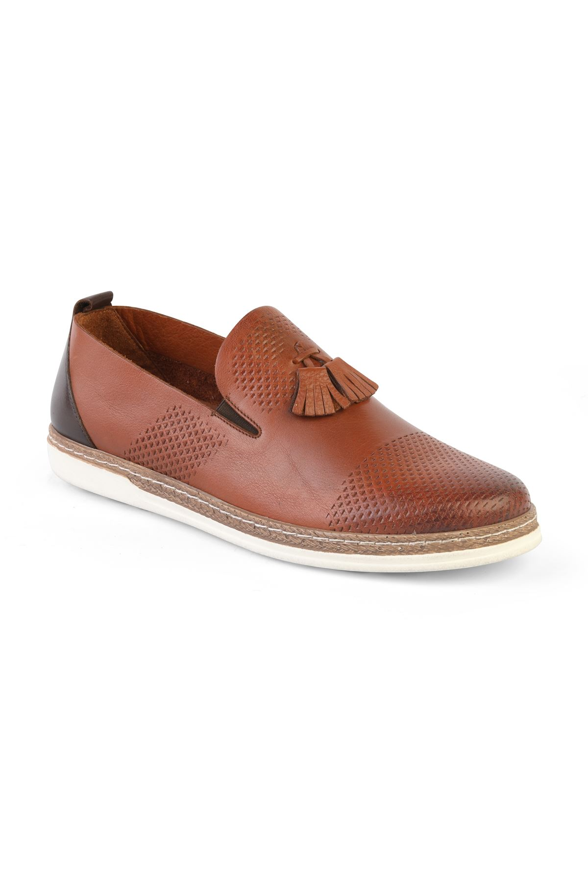 Libero T1206 Tan Loafer Shoes