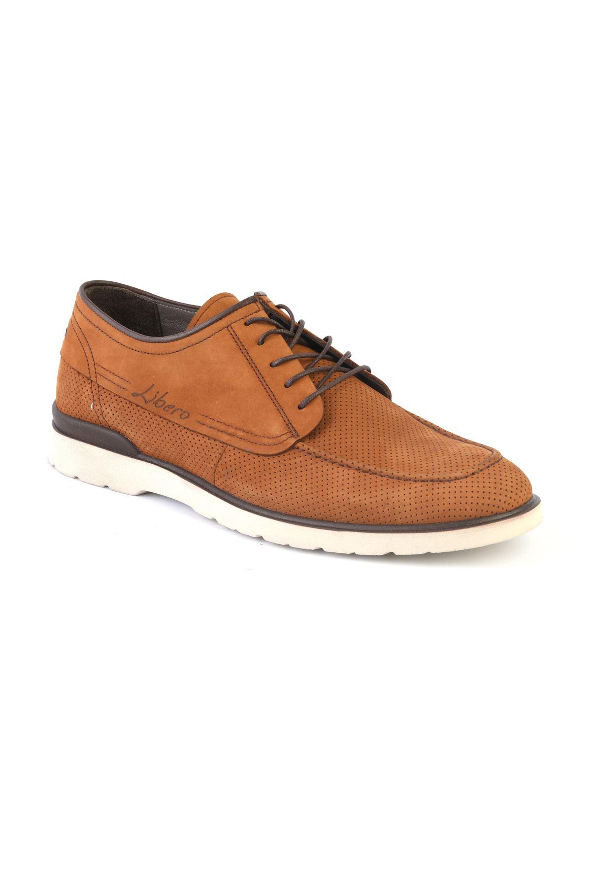 Libero T1197 Tan Casual Shoes