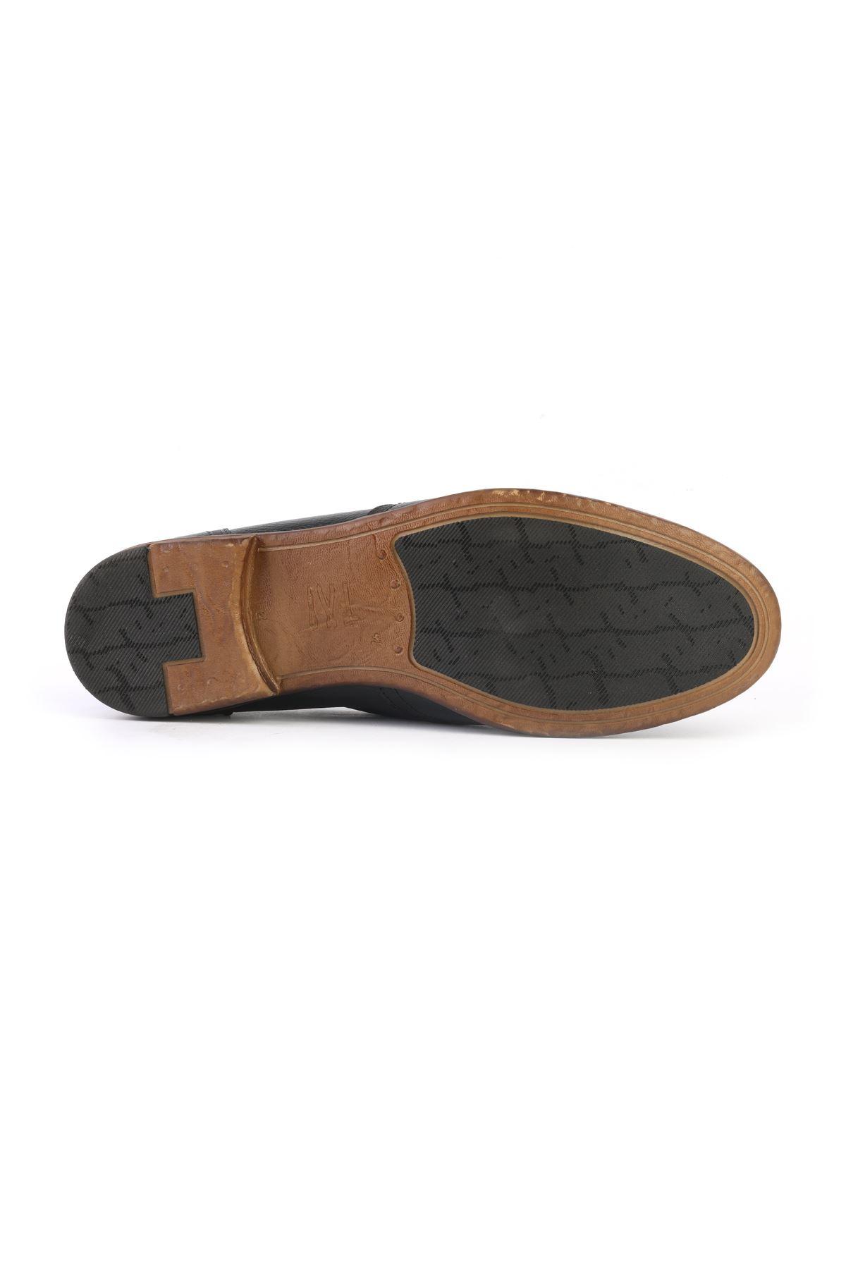 Libero T1163 Black Casual Shoes