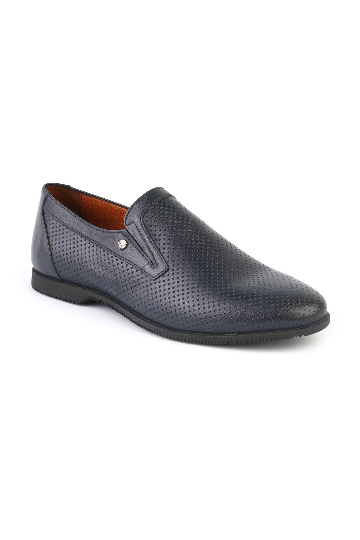 Libero T1207 Lacivert Loafer Ayakkabı