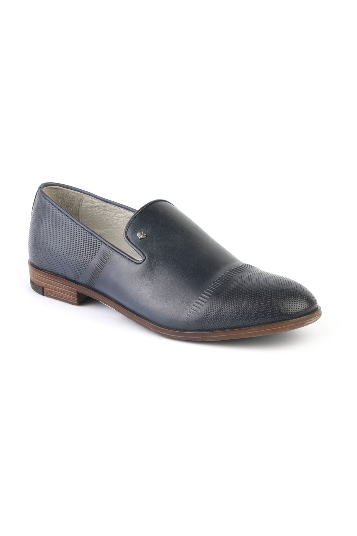 Libero T1218 Navy Blue Casual Shoes