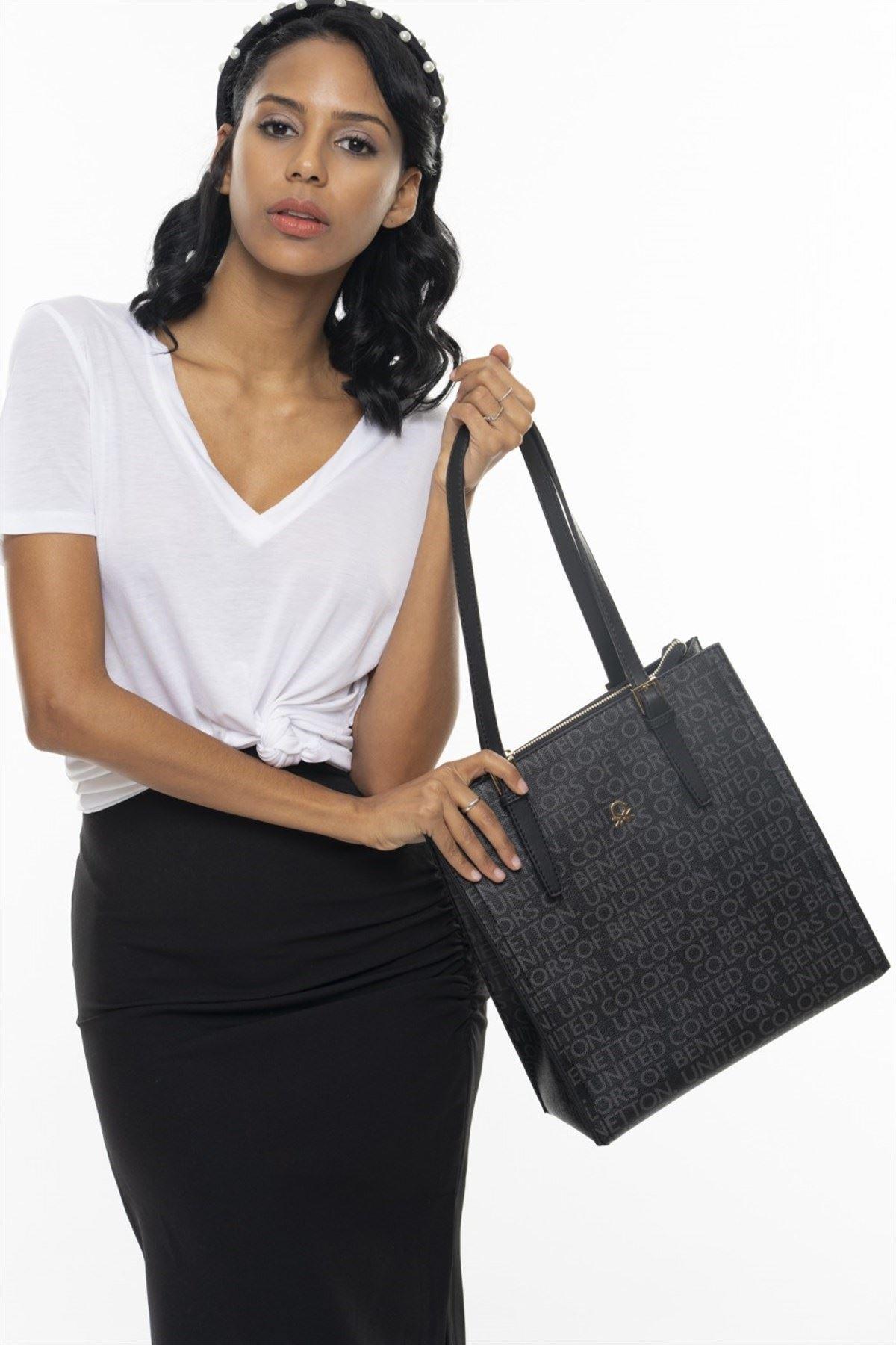Benetton 332 Siyah Kadın Çanta