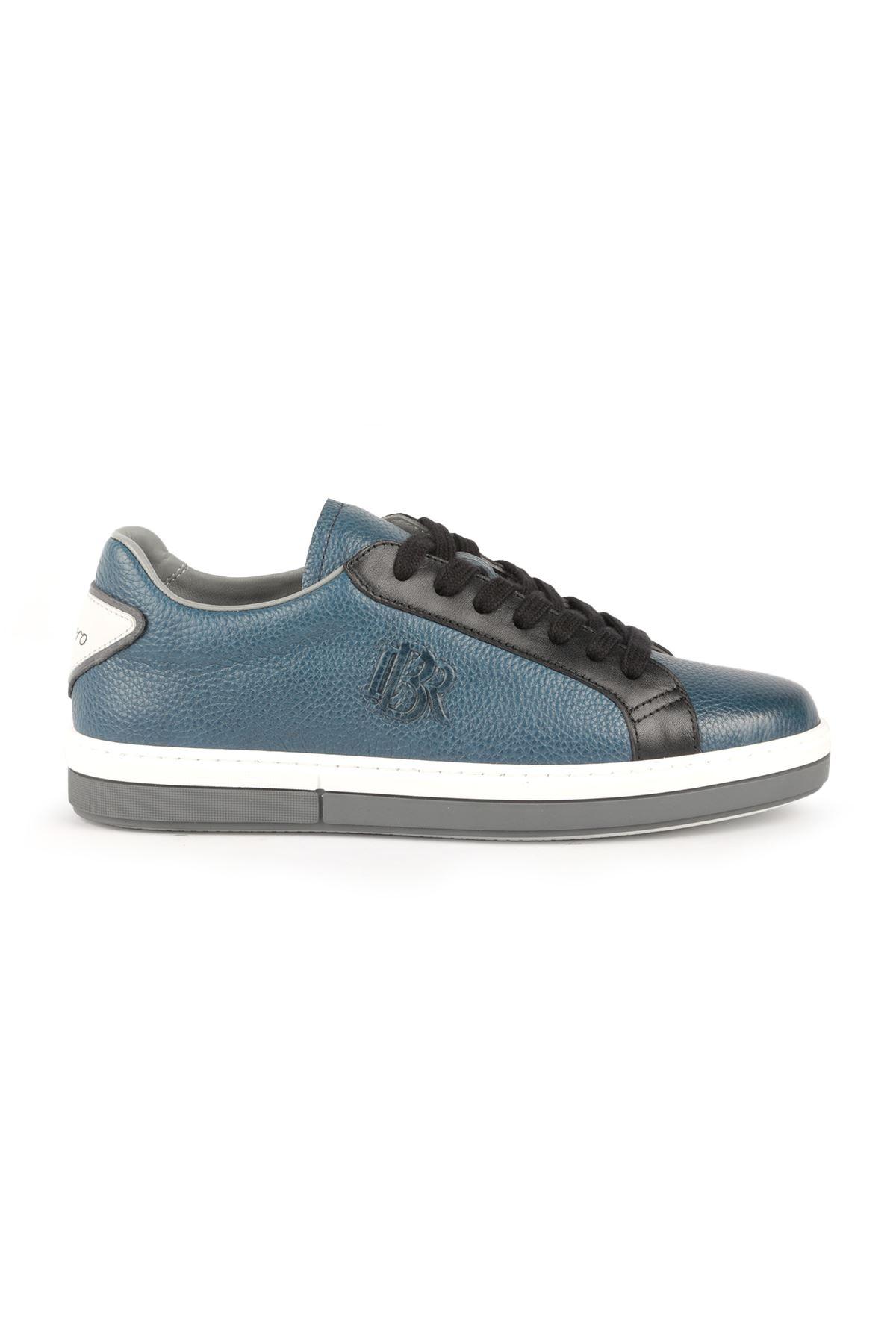 Libero L3355 Mavi Deri Spor Ayakkabı