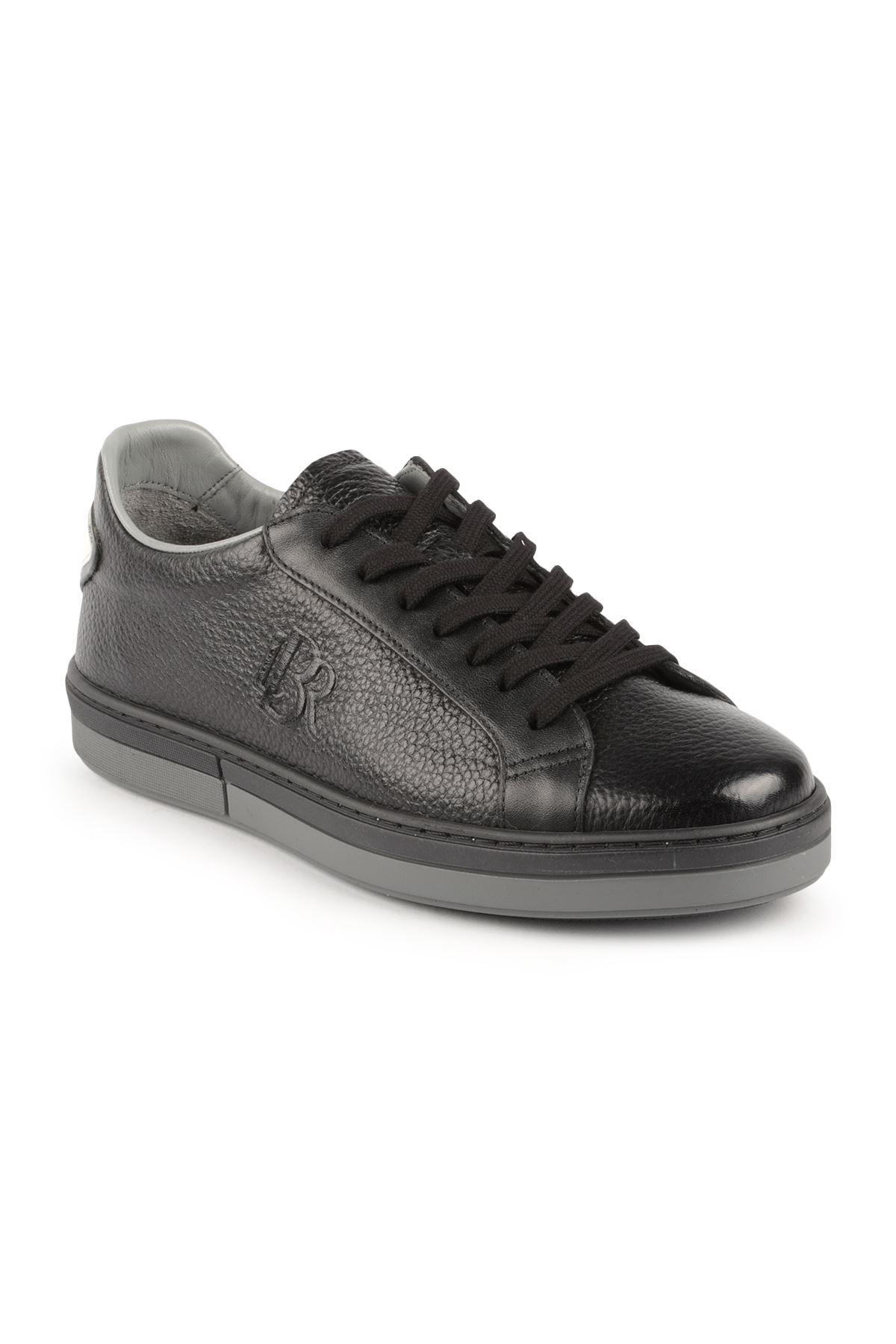 Libero L3355 Siyah Deri Spor Ayakkabı