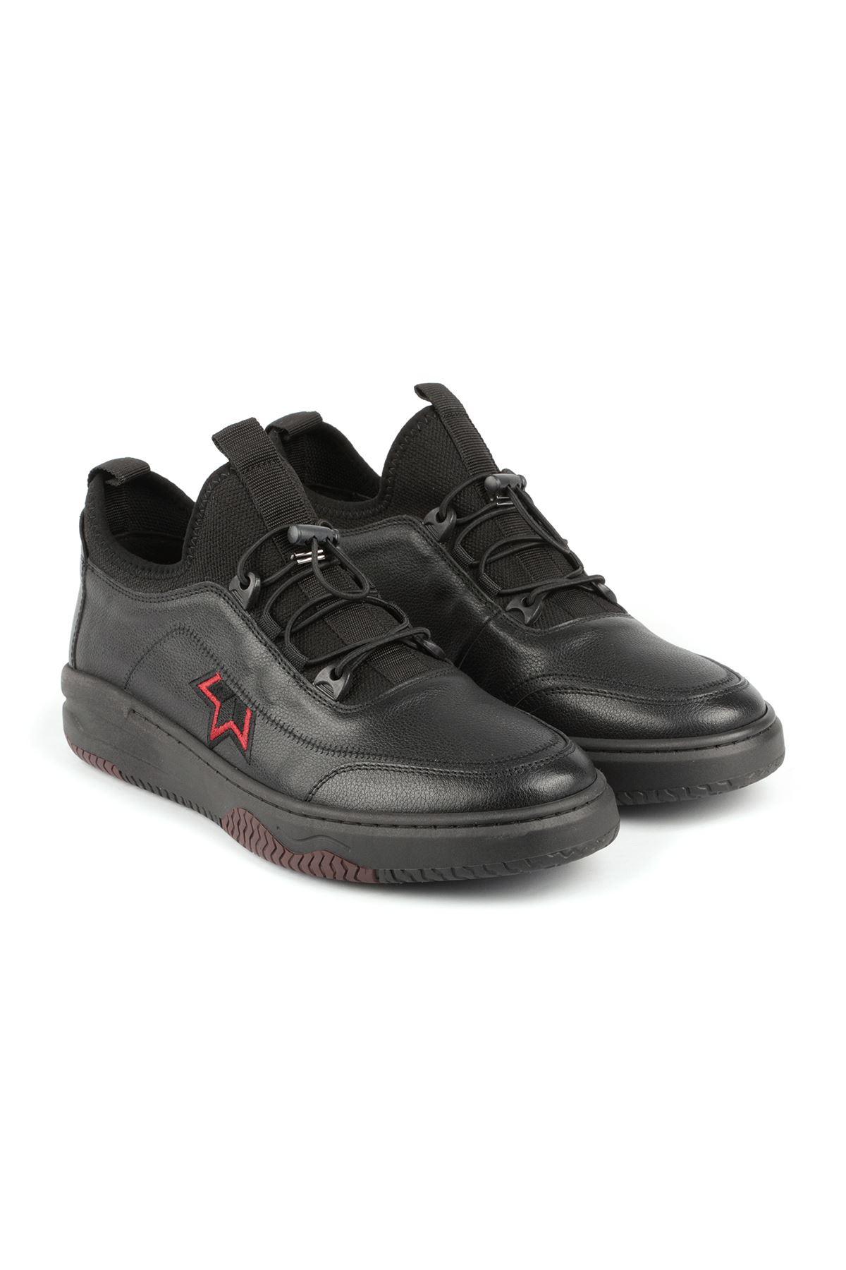 Libero L3546 Black Sports Shoes