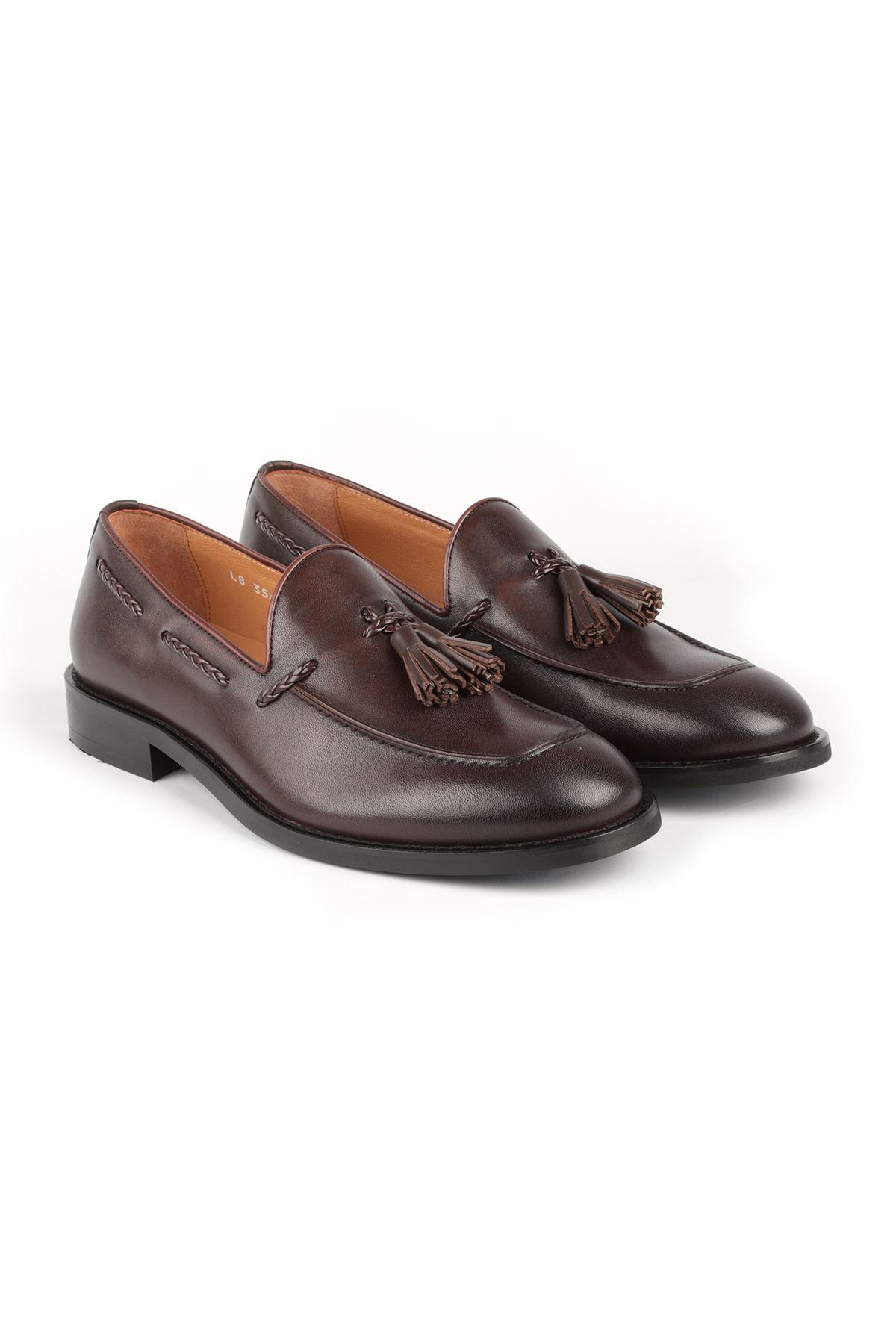 Libero L3562 Kahve Loafer Günlük Ayakkabı