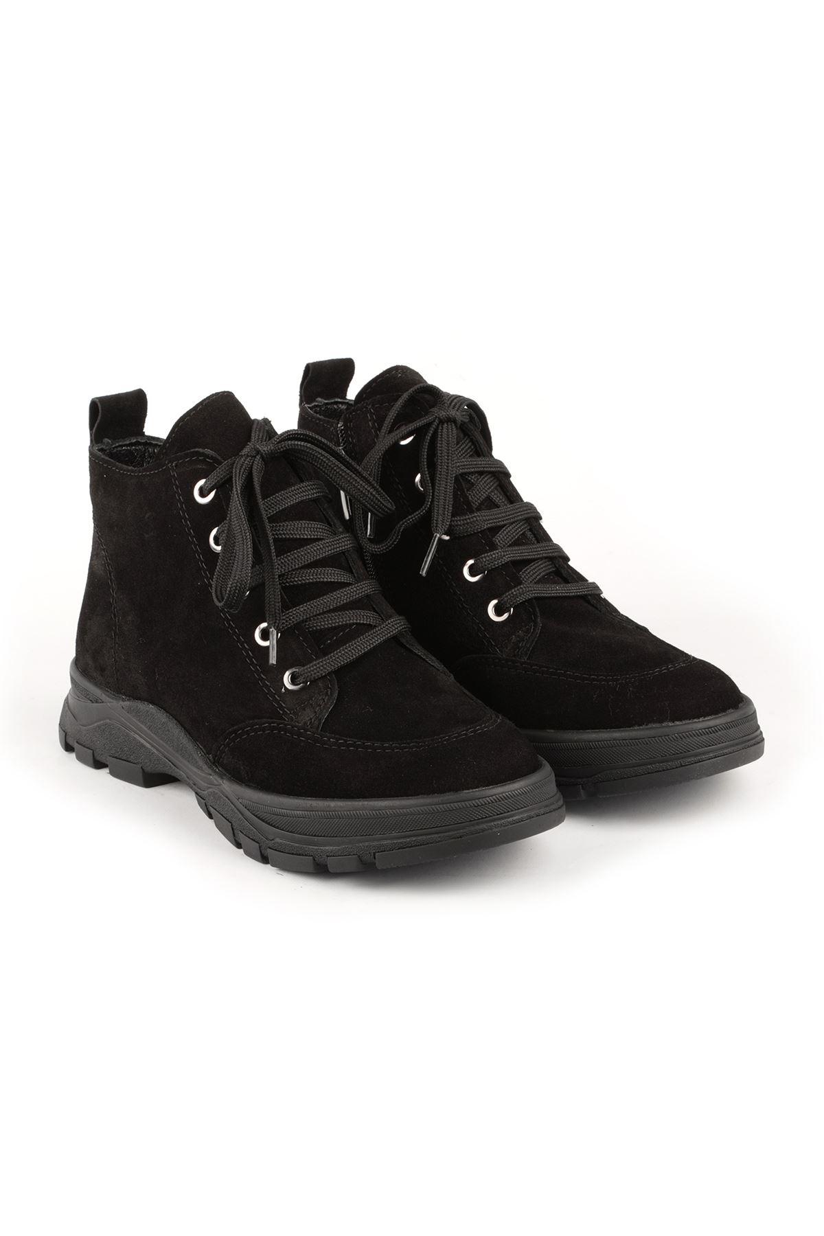 Libero MR15806 Black Suede Boots