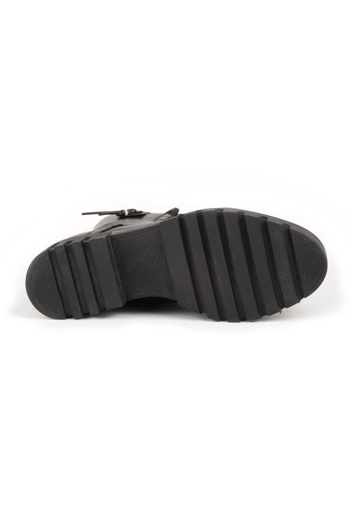 Libero MR10760 Siyah Deri Bot