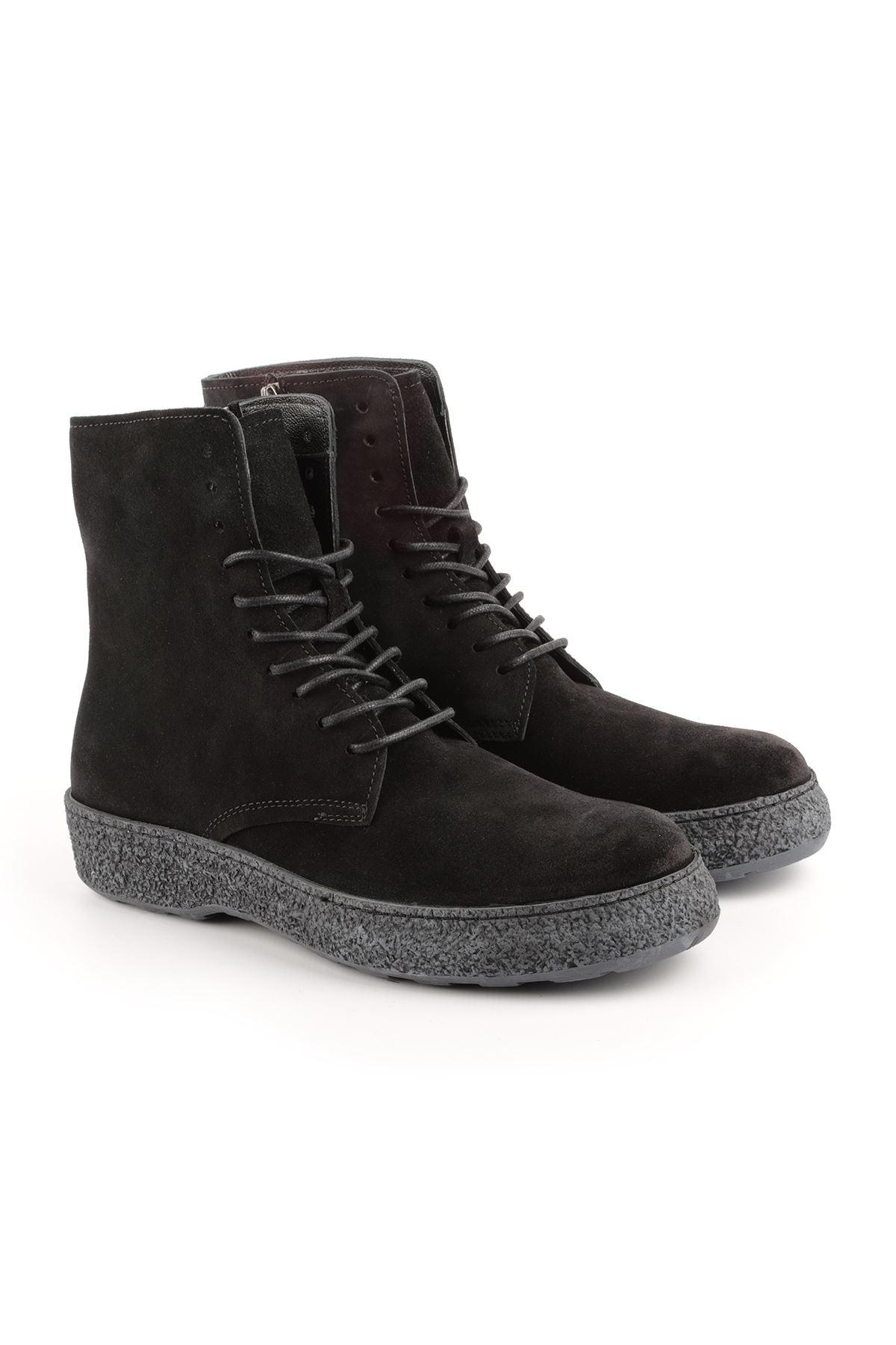Libero L3448 Black Suede Boots